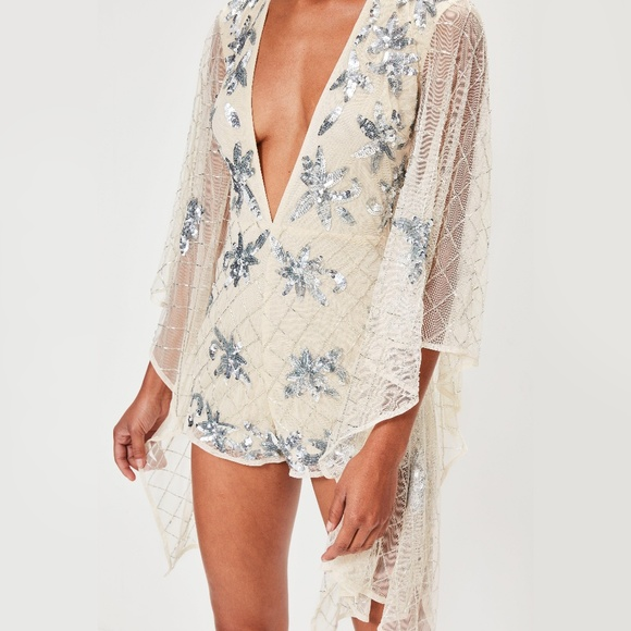 f4007e92951d Peace + Love Kimono Sleeve Playsuit